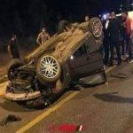 بالأسماء.. إصابة 11 مواطن فى حادث انقلاب سيارة بطريق مطروح الإسكندرية