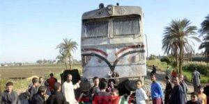 مصرع شاب ألقى بنفسه من قطار طنطا - كفر الزيات بعد مشادة مع الكمسري