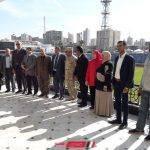 يوسف الديب والمستشار العسكري يشهدان زيارة الطلاب لاستاد الاسكندرية الرياضي الدولي