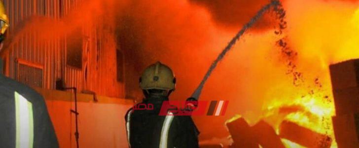 السيطرة على حريق في 3 سيارات في المنصورة