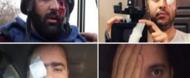 القصة كاملة للحملة التضامنية مع الصحفي الفلسطيني معاذ عمارنة بعد تصفية الاحتلال لـ عينه اليسرى