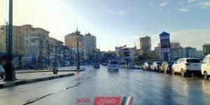 أمطار دمياط تصوير عبده شحاته