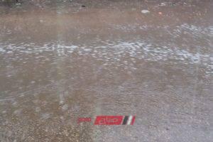 بالصور.. شلل بالحركة المرورية في الغربية بسبب الأمطار والرياح