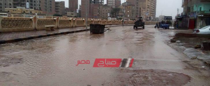 بالصور-توقف حركة الصيد في كفر الشيخ جراء الأمطار