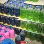 ضبط 300 عبوة صابون سائل داخل مصنع غير مرخص في دمياط