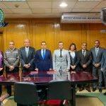 المعهد الأمني وإيليت يوقعان بروتوكول تعاون مشترك