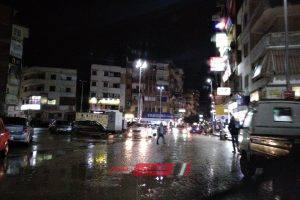 موجة من الأمطار الغزيرة تضرب مدن وقرى محافظة دمياط وتوقعات بطقس سيئ على مدار اليوم