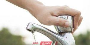 انقطاع مياه الشرب عن عدة مناطق في مدينة برج العرب الجديدة غداً