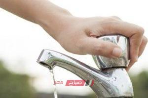 انقطاع مياه الشرب عن عدة مناطق وسط الإسكندرية اليوم