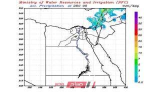 تعرف على خريطة سقوط الأمطار حتى يوم السبت المقبل