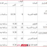 جدول امتحانات الشهادة الابتدائية 2020 محافظة الاقصر