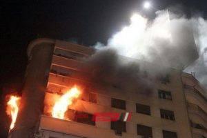 وفاة شخصين فى حريق داخل شقة سكنية فى المنتزه بالإسكندرية