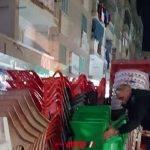 حملة مكبرة ترفع 257 حالة اشغال في دمنهور