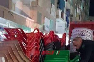 إزالة 231 حالة اشغال في حملة مكبرة في مدينة دمنهور