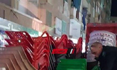 رفع 268 حالة إشغال في حملة مكبرة بمدينة دمنهور