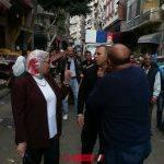 حملات إزالة إشغالات مكثفة في حى شرق محافظة الإسكندرية