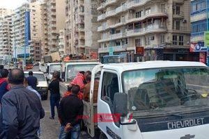 حملات إزالة تعديات وإشغالات على شواطىء الإسكندرية