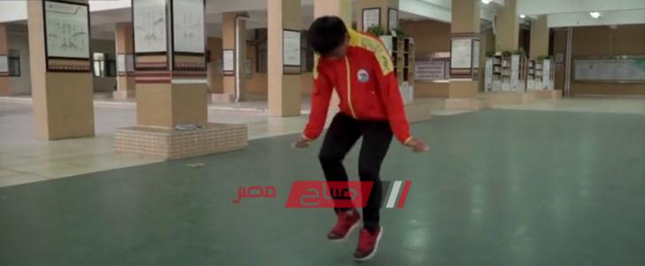 بالفيديو شاب يقفز على الحبل 228 مرة خلال 30 ثانية