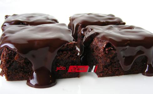 طريقة عمل البسبوسة بالشوكولاتة