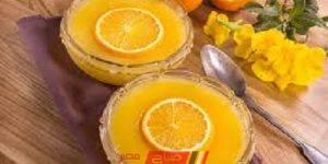 طريقة عمل مهلبية البرتقال