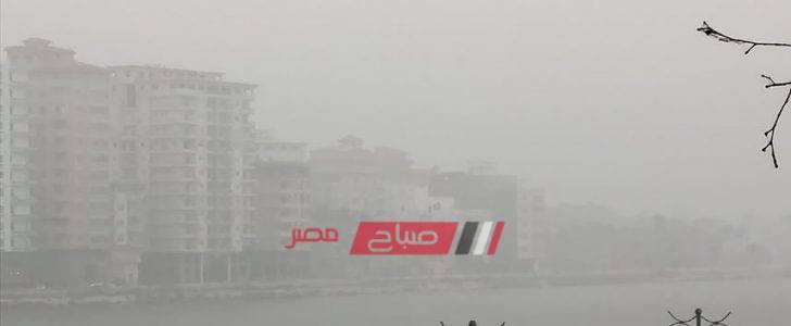 غدا الجمعة أمطار على دمياط وطقس سيئ على مدار اليوم