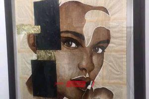 علياء البازعي فنانة سعودية تبتكر طريقة جديدة لرسم البورتريه