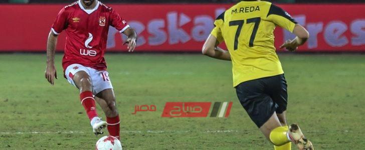 نتيجة مباراة الأهلي ووادي دجلة الدورى المصرى موقع صباح مصر