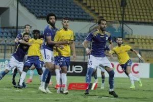 الدوري المصري نتيجة مباراة الإسماعيلي وطنطا