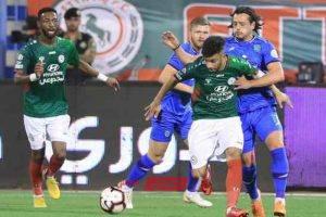 الدوري السعودي نتيجة مباراة الاتفاق والفتح