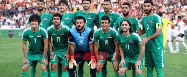 كأس الخليج العربي نتيجة مباراة العراق واليمن