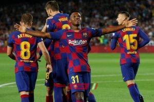 ملخص مباراة برشلونة وانتر ميلان دورى الابطال الاوروبي