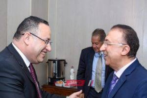 محافظ الإسكندرية الحالي والسابق يلتقيان في مؤتمر الإسكندرية تستحق لأول مرة