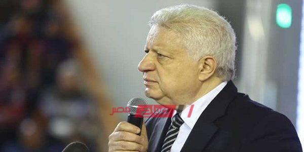 مرتضى منصور لم أتحدث مع كريم شحاته ومكالمته مع حتحوت كاذبة
