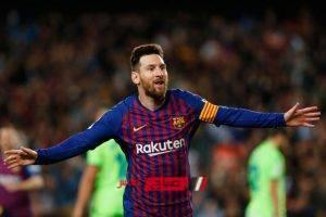 برشلونة يبدأ مفاوضات تمديد تعاقد ميسى