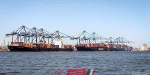 ميناء دمياط تصوير كامل طارق