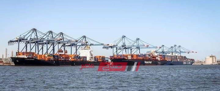 انتظام حركة الملاحة البحرية في دمياط بالرغم من سوء الأحوال الجوية