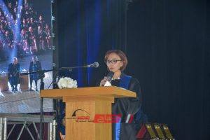 نائب محافظ الإسكندرية تشارك في حفل تخريج الدفعة الثامنة للتعليم الدولي ٢٠١٩ كلية الطب