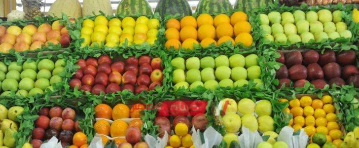 10 جنيهات سعر التفاح البلدي في سوق الجملة اليوم