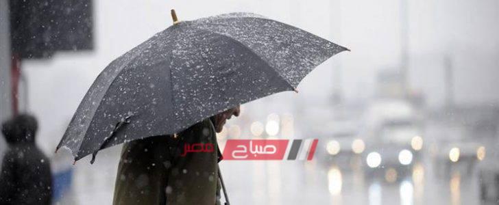 موجة من الطقس السيئ تضرب دمياط وأمطار غزيرة ورياح شديدة