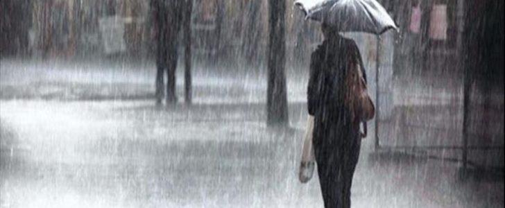 بسبب هطول الامطار غرق شوارع في كفر الشيخ