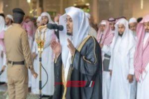 الدوسري يؤم المصلين في المسجد الحرام لأداء صلاة الكسوف