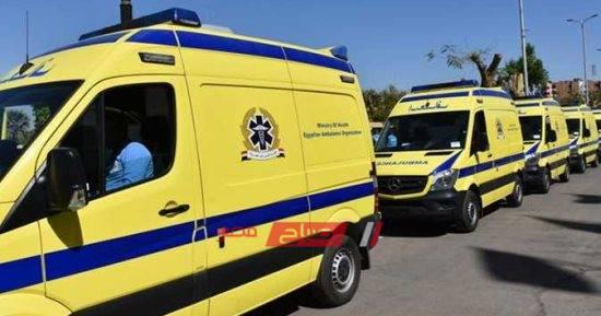 إصابة 3 أفراد فى حادث تصادم سيارتى نقل في العلمين