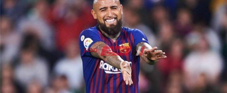 كونتي يترقب موقف فيدال مع برشلونة