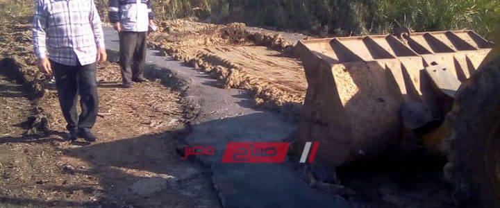 ايقاف اعمال بناء مخالفه في مدينة دمنهور