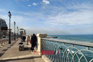 توقعات الأرصاد عن حالة طقس الإسكندرية خلال الساعات المقبلة