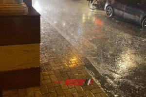 طقس الإسكندرية الآن هطول أمطار رعدية وثلوج – صور