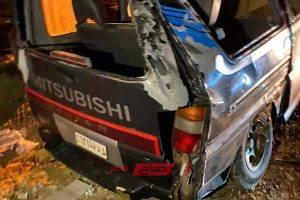 ننشر صور حادث انقلاب سيارة ميكروباص على طريق دمياط بورسعيد