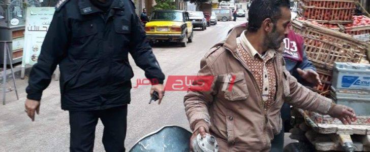 شن حملات مكبرة في حي الجمرك لمنع مكبرات الصوت في الإسكندرية