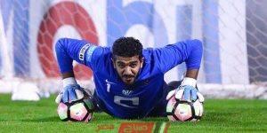 عبدالله المعيوف حارس نادي الهلال السعودي