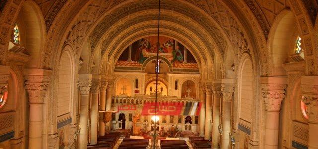 تأمين الكنائس في الإسكندرية بمناسبة عيد الغطاس